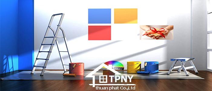 Dịch vụ sơn nhà giá rẻ tại tphcm chất lượng